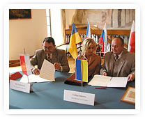The partnership contract was signed on 8 th May, 2004 in Raciborz.